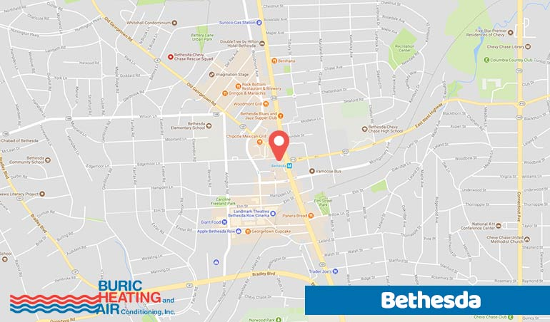 Bethesda Md Heating Air Conditioning Service Company