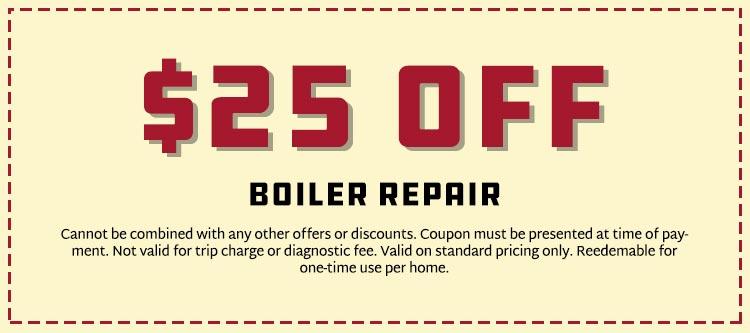 Savings on Boiler Repair