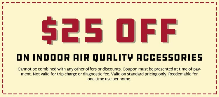 Savings on Indoor Air Quality Accessories